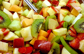 Sałatka owocowa w wersji zimowej