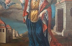 Św. Barbara - wpatrzona w Jezusa