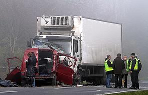 Wypadek w Nowym Mieście - zginęło 18 osób