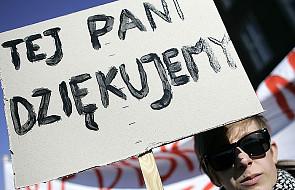 Demonstracja ws. odwołania E. Radziszewskiej