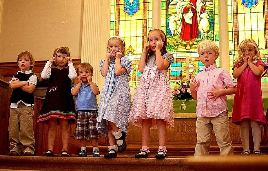 Czy w kościele dzieci się nudzą?