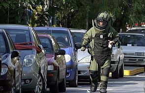 Seria zamachów na ambasady w Grecji
