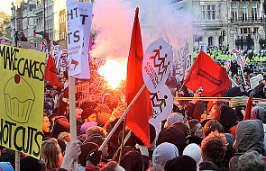 Anglia zszokowana rozmiarami protestu