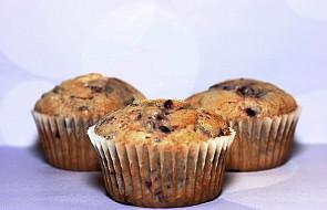 Muffinki jagodowe na niedzielny deser