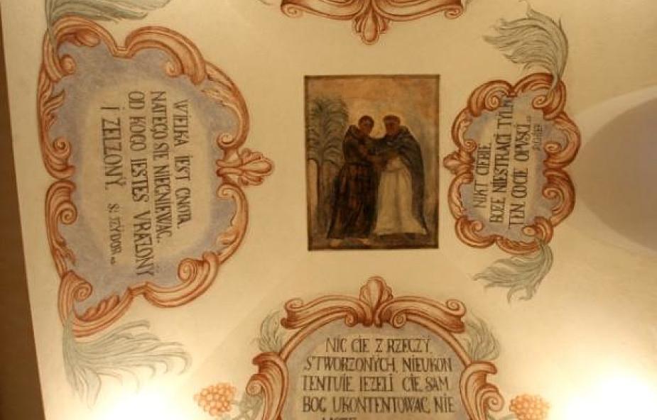 W Krakowie odkryto barokowe polichromie