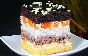 Ciasto bakaliowo-kolorowe