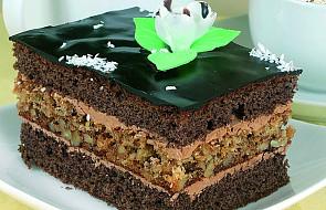 Ciasto czekoladowo-orzechowe