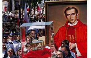 Górale otrzymają relikwie bł. ks. Popiełuszki