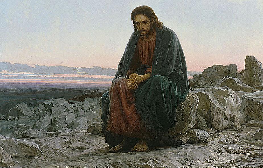 Znalezione obrazy dla zapytania: kuszenie jezusa na pustyni