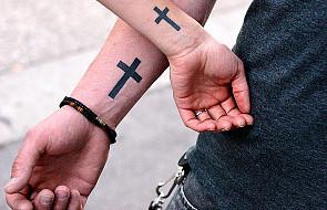 Znak krzyża - symbol przynależności do Pana