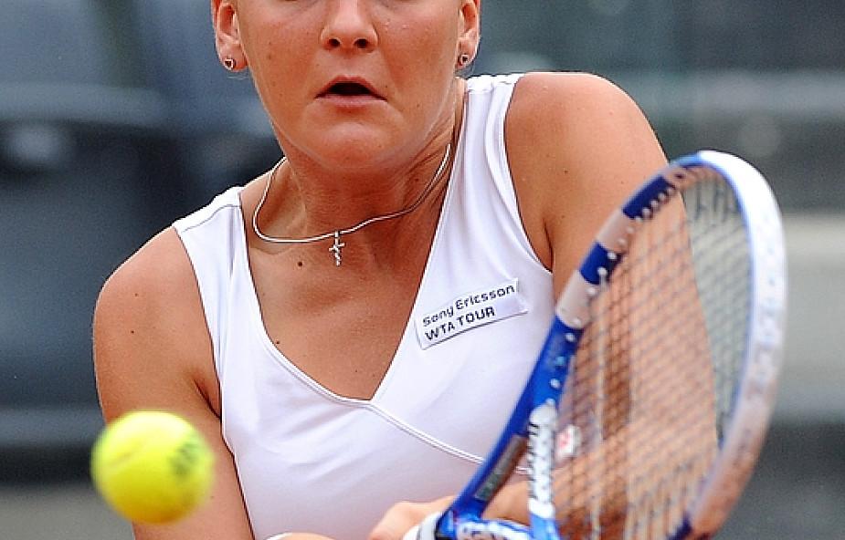 Radwańska wygrała z deblową partnerką