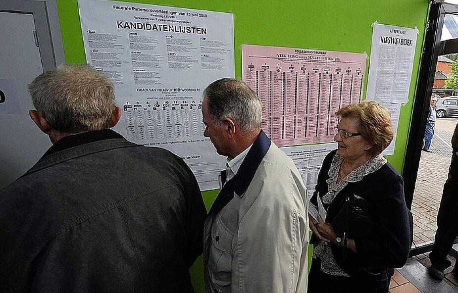 Belgowie wybierają dziś swój parlament