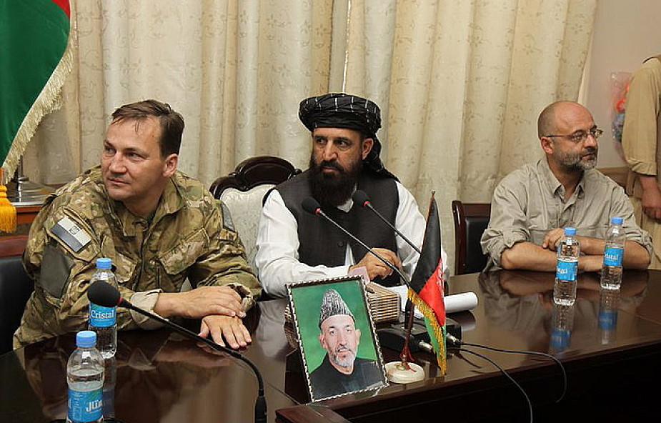 Sikorski potępia wyciek afgańskich dokumentów