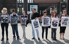 Manifestacja w obronie zwierząt w Warszawie