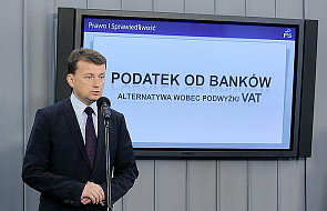 """""""Podatek od banków zamiast podwyżki VAT"""""""