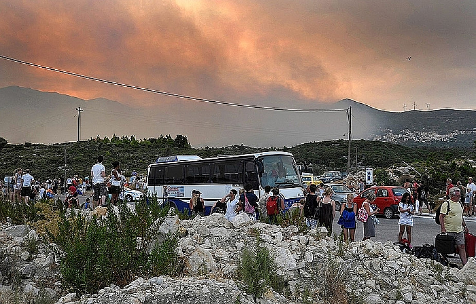Strażacy opanowali pożar na wyspie Samos