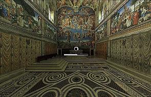 Wirtualne zwiedzanie Kaplicy Sykstyńskiej
