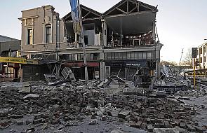 Trzęsienie ziemi w Nowej Zelandii, są ranni