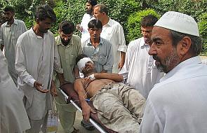 Zamach na posterunek policji w Pakistanie