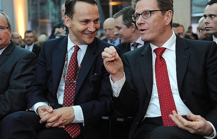 Sikorski i Westerwelle o wzajemnej współpracy