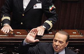 Rząd Berlusconiego otrzymał wotum zaufania