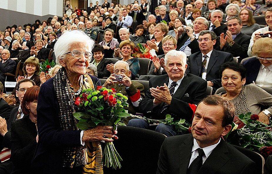 Dr Wanda Błeńska skończyła 100 lat
