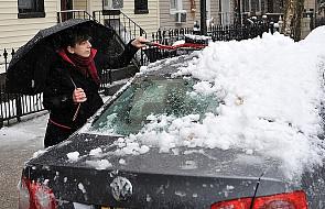 Pierwszy śnieg zaskoczył Stan Nowy Jork