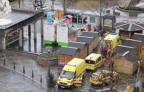 Zamach w centrum Liege - nie terrorystyczny