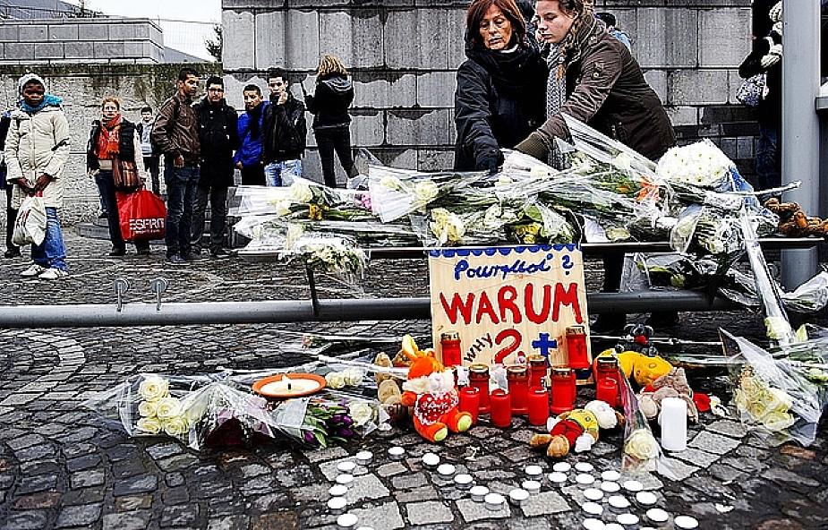 Modlitwa za ofiary zamachu w Liège
