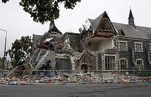 Trzęsienie ziemi zabija w Nowej Zelandii