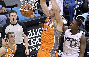 "NBA: Porażka ""Słońc"", 10 punktów Gortata"