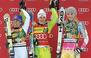 Alpejski PŚ - Rebensburg wygrała slalom gigant