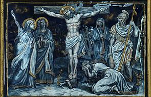 Stacja XII - Pan Jezus na krzyżu umiera