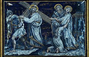 Stacja IV - Pan Jezus spotyka swoją Matkę