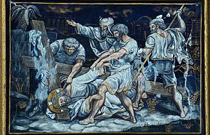 Stacja IX - Trzeci upadek Pana Jezusa