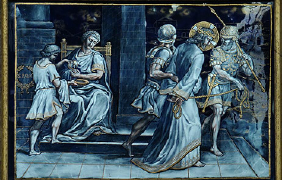 Stacja I - Pan Jezus na śmierć skazany