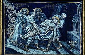 Stacja XIV - Złożenie Pana Jezusa do grobu