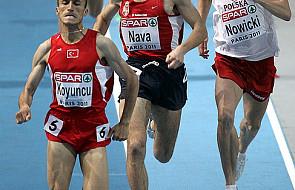 Brązowy medal Nowickiego za bieg na 1500 m
