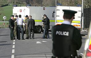 Policjant zginął w zamachu. Winni rozłamowcy?