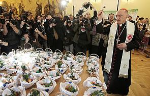 Kardynał Nycz złożył życzenia wielkanocne
