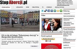 Wieluń: Zniszczona wystawa antyaborcyjna