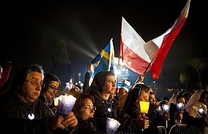 Rzym: 200 tys. osób uczestniczyło w czuwaniu