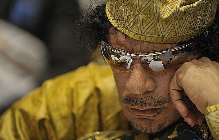 Będzie nakaz aresztowania Kadafiego?