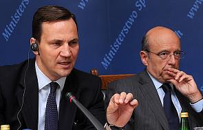 Sikorski ostrożnie o kandydacie na szefa MFW