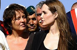 Angelina Jolie u uchodźców na Lampedusie