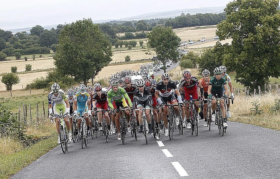 Tour de France w sanktuarium w Lourdes