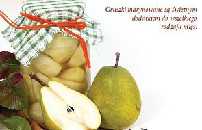 Gruszki marynowane -  spiżarnia S. Anastazji