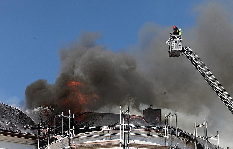 Pożar kościoła na warszawskim Targówku