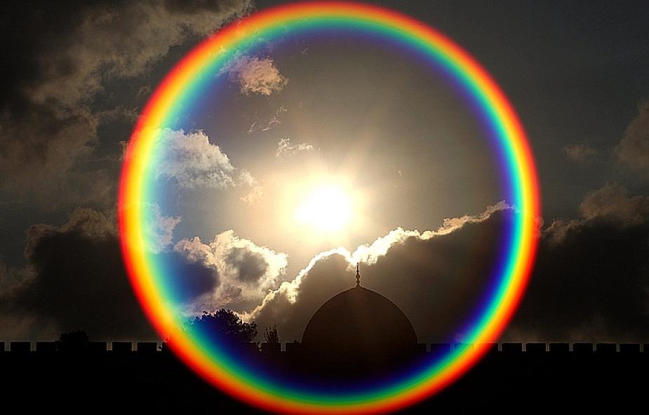 Радуга круглая картинки