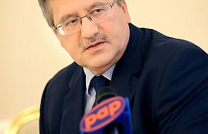 """Prezydent Komorowski i """"strategia dla rodziny"""""""